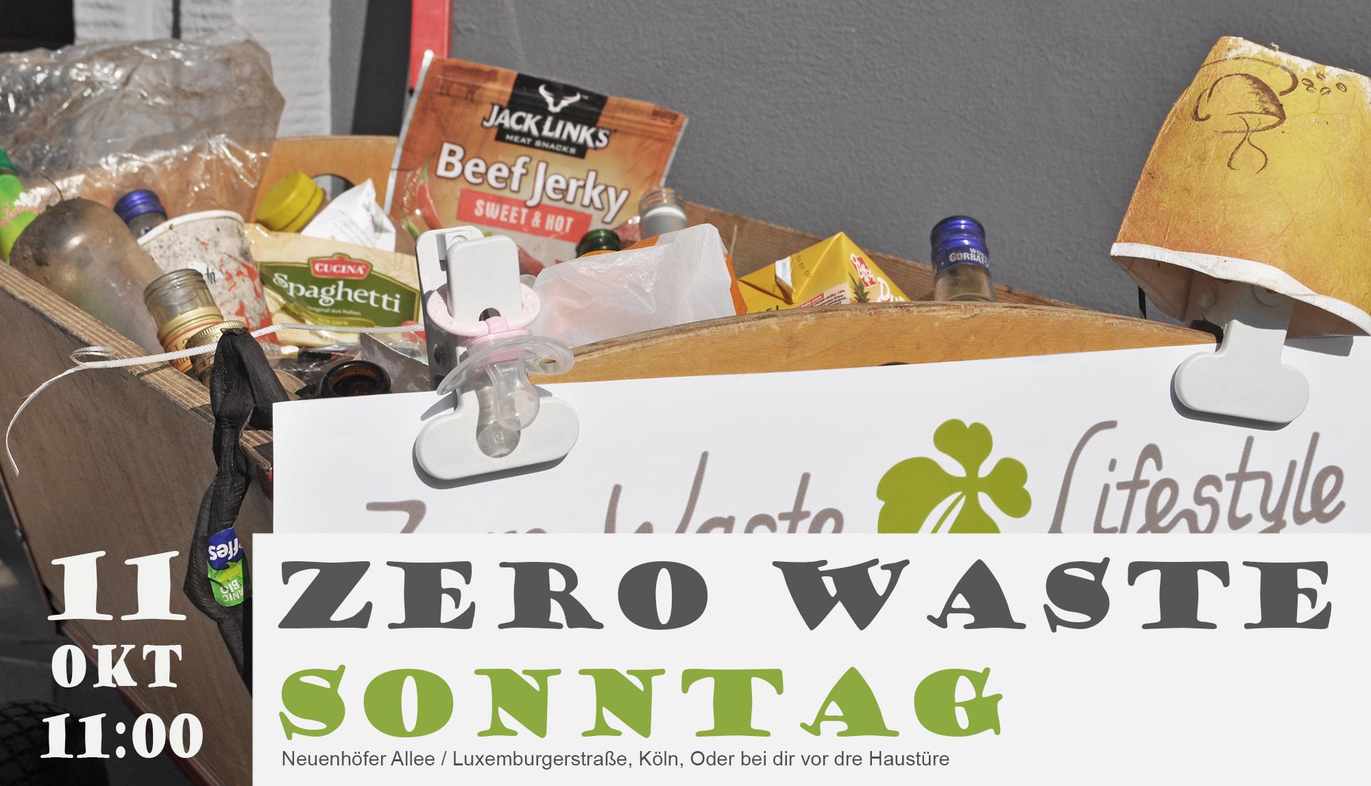 Zero Waste Sonntag, die Erste